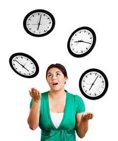 Coaching en gestion du temps
